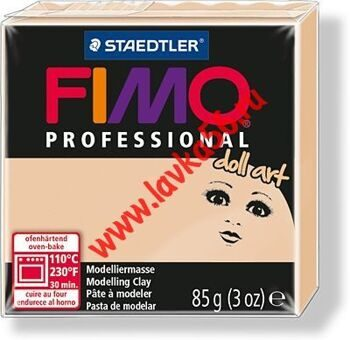 Fimo Professional doll art Непрозрачный песочный - 45 85гр